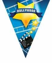 Goedkope vlaggenlijn hollywood meter