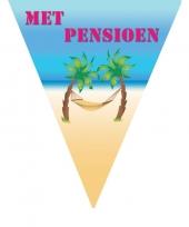 Goedkope vlaggenlijn pensioen m