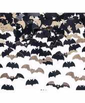 Goedkope vleermuizen confetti mix zwart goud