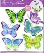 Goedkope vlinder decoratie stickers