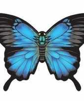 Goedkope vlinder vlieger blauw