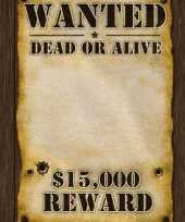 Goedkope wanted poster x