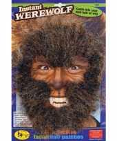 Goedkope weerwolf gezichtshaar