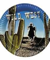 Goedkope wild west thema bordjes x
