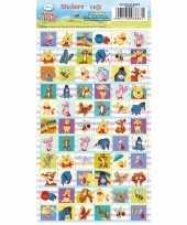 Goedkope winnie poeh stickervel stickers