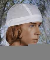 Goedkope wit gekleurde bandana uni