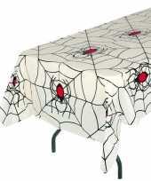 Goedkope wit halloween spinnenweb tafelkleed