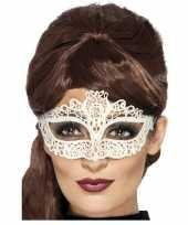 Goedkope wit kanten oogmasker dames