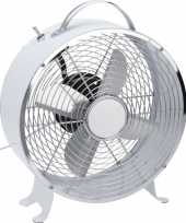 Goedkope witte tafel ventilator