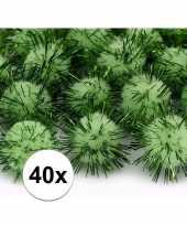 Goedkope x appel groene knutsel pompons mm 10107996