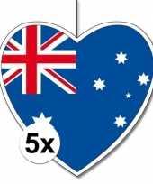 Goedkope x australie hangdecoratie harten 10145500