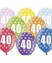 Goedkope x ballonnen jaar sterretjes versiering 10138146