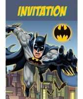 Goedkope x batman themafeest uitnodingen kaarten