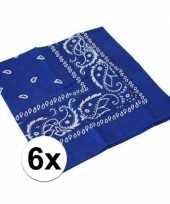 Goedkope x blauwe boeren zakdoeken