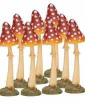 Goedkope x decoratie paddenstoel vliegenzwam 10126898