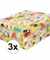 Goedkope x disney inpakpapier cadeaupapier mickey mouse rol 10162018