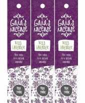 Goedkope x gaias incense luxe wierook stokjes wilde lavendel geur 10151385