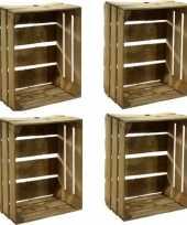 Goedkope x gebruikte houten fruitkisten 10156937