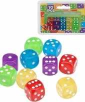 Goedkope x gekleurde dobbelstenen 10148222