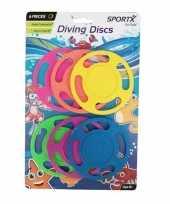 Goedkope x gekleurde duikringen duikspeelgoed