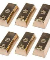 Goedkope x goudstaven magneet 10147580