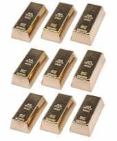Goedkope x goudstaven magneet 10147581