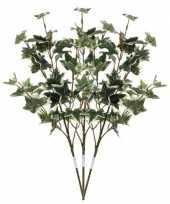 Goedkope x groen geelbonte hedera klimop kunsttakken kunstplanten 10140228