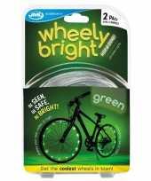 Goedkope x groene fietsverlichting spaakverlichting led lichtslangen
