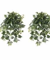 Goedkope x groene hedera helix klimop kunstplant buiten 10162587