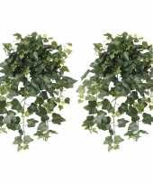 Goedkope x groene hedera helix klimop kunstplanten buiten