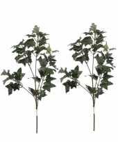Goedkope x groene hedera klimop kunsttakken kunstplanten