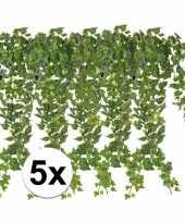 Goedkope x groene klimop takken kunstplanten