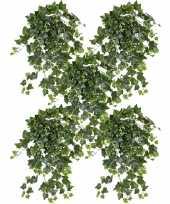 Goedkope x groene witte hedera helix klimop kunstplant buiten 10153436