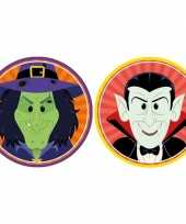 Goedkope x halloween onderzetters heks vampier dracula