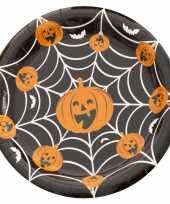 Goedkope x halloween pompoen bordjes
