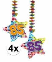 Goedkope x hangdecoratie sterren jaar 10126432