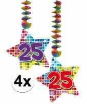 Goedkope x hangdecoratie sterren jaar 10126446