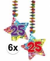Goedkope x hangdecoratie sterren jaar 10126447