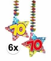 Goedkope x hangdecoratie sterren jaar 10126477