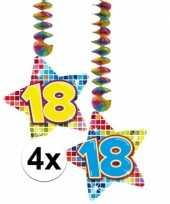 Goedkope x hangdecoratie sterren jaar 10126494