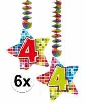 Goedkope x hangdecoratie sterren jaar 10126554