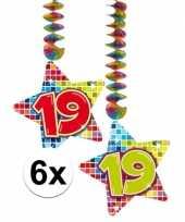 Goedkope x hangdecoratie sterren jaar 10126764