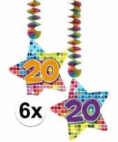 Goedkope x hangdecoratie sterren jaar 10126766