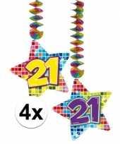 Goedkope x hangdecoratie sterren jaar 10126768