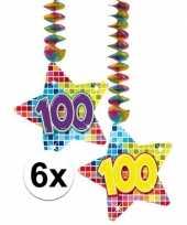 Goedkope x hangdecoratie sterren jaar 10126777