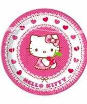 Goedkope x hello kitty themafeest bordjes