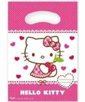 Goedkope x hello kitty themafeest feestzakjes 10152837