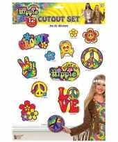 Goedkope x hippie thema decoratie borden