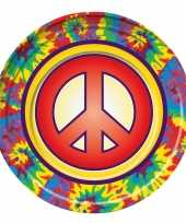 Goedkope x hippie themafeest borden