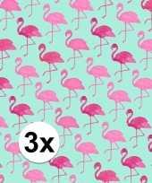 Goedkope x inpakpapier flamingo motief rol type 10124717